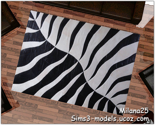 ковер sims 3 rugs objects decor объекты декор