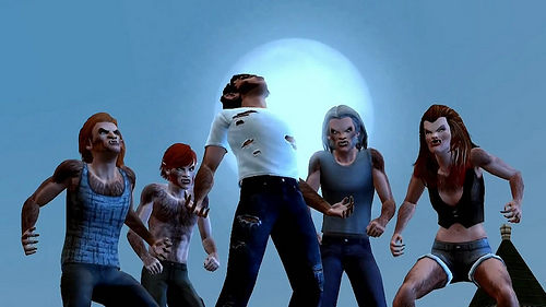 Sims 3 Supernatural Сверхъестественное