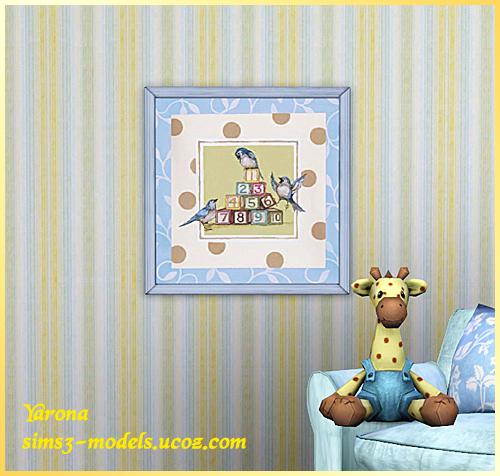 Картины для детской Sims 3 от Yarona