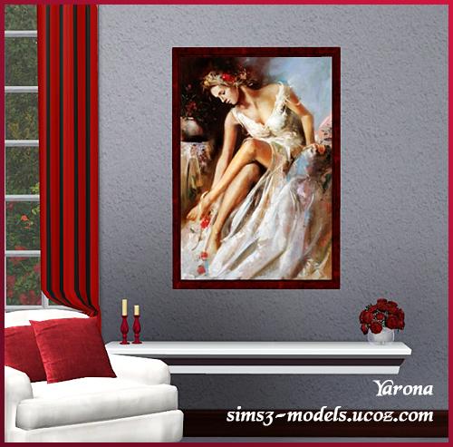 Sims 3, paintings, Yarona, картина