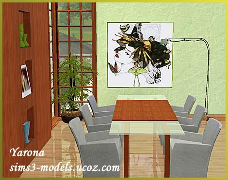 Набор мебели для Sims 3 от Yarona
