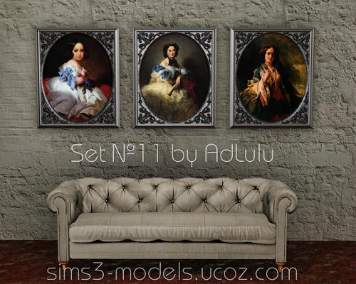 Buy, paintings, objects, decor, картины, декор, объекты, sims 3, симс 3, AdLulu
