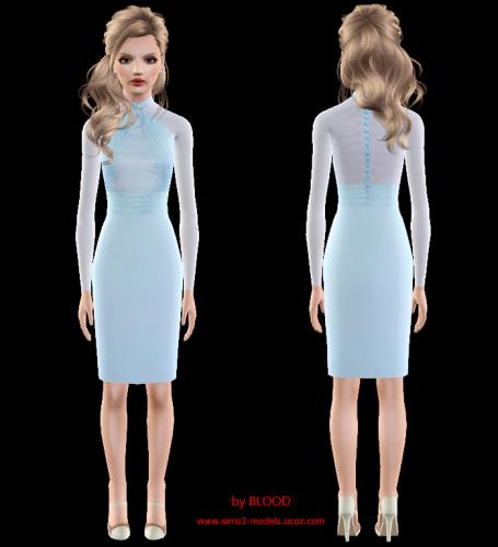 dress sims 3 платье