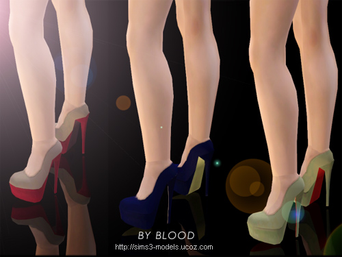 sims 3 shoes туфли