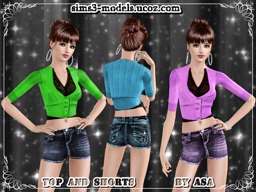 Sims 3, Одежда,Clothes