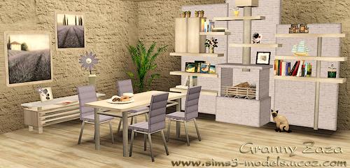 Buy, decor, objects, furniture, объекты, покупка, Granny Zaza, sims 3, декор, мебель