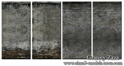 Build, patterns, texture, walls, обои для симс 3, Granny Zaza, симс 3, sims3, стены