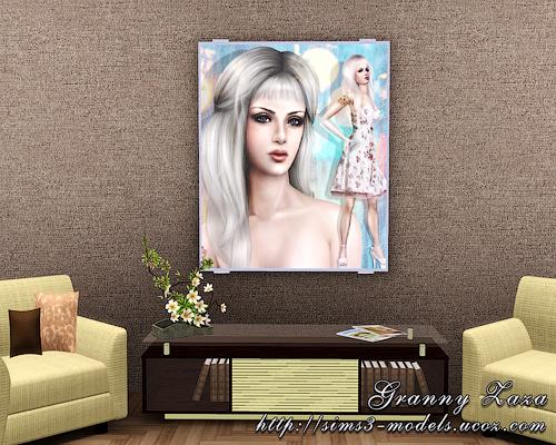 Buy, paintings, objects, decor, картины, декор, объекты, sims 3, симс 3, Granny Zaza
