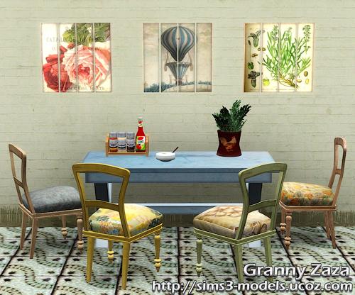 Buy, decor, objects, furniture, объекты, покупка, Granny Zaza, sims 3, мебель, декор