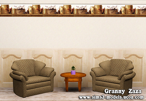 Build, patterns, texture, walls, обои для симс 3, Granny Zaza, симс 3, sims3, стены