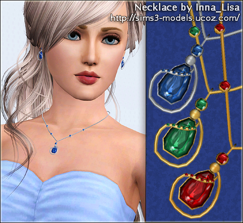 sims3 accessories аксессуар necklace