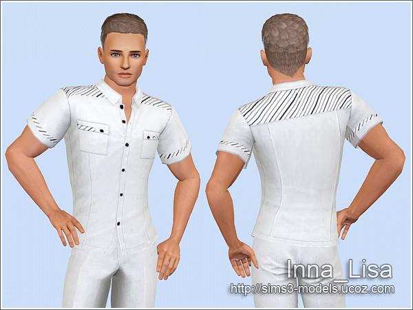 shirt, рубашка, sims3