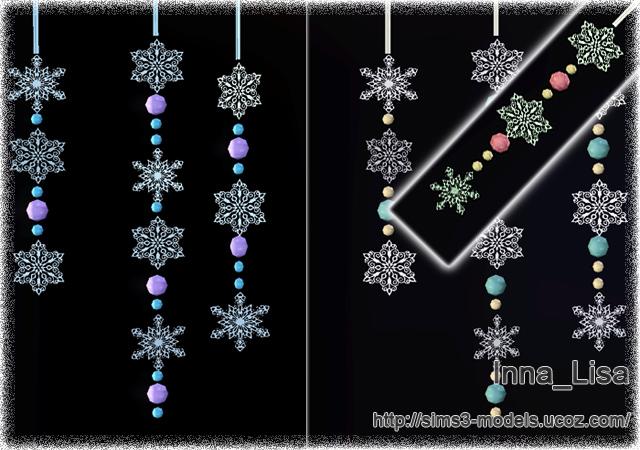 Christmas decor, sims3, новогоднее украшение