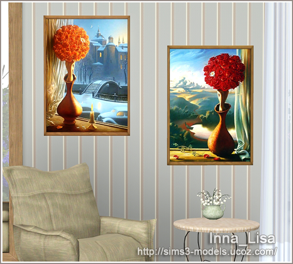 painting, sims 3, картины