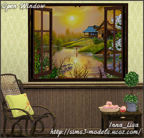 painting sims картина симс