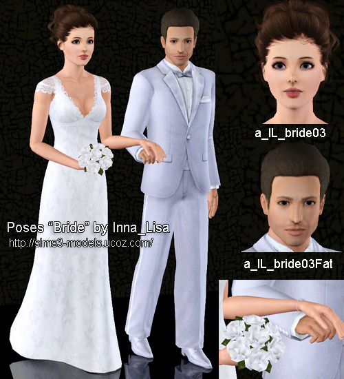 "Wedding Altar Sims 3: My Sims 3 Poses: Accessory & Poses ""Bride"" By Inna Lisa"