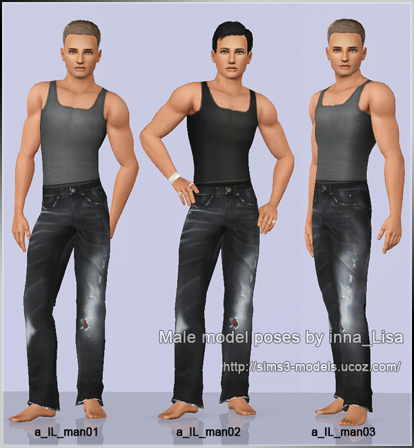 Sims 3 Male Poses