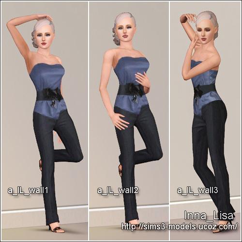 pose sims3 позы