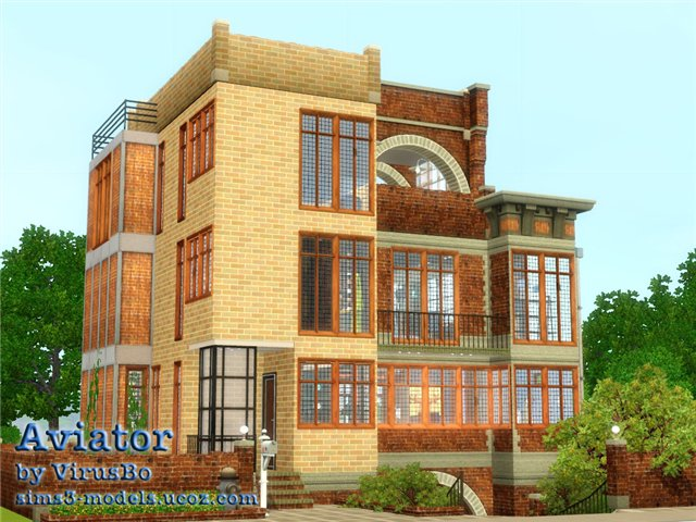 house sims3, дом