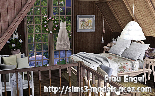 cottage, дом, house, residential, lot, Sims3