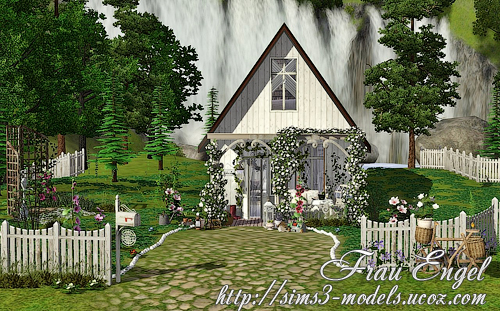 house, lot, residential, дом, лот, Sims 3