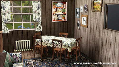 sims 3, house, дом