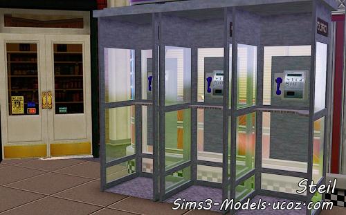 community, общественный лот sims3