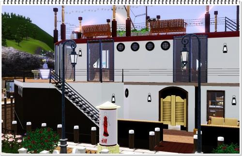 lot, house, sims 3, общественный лот