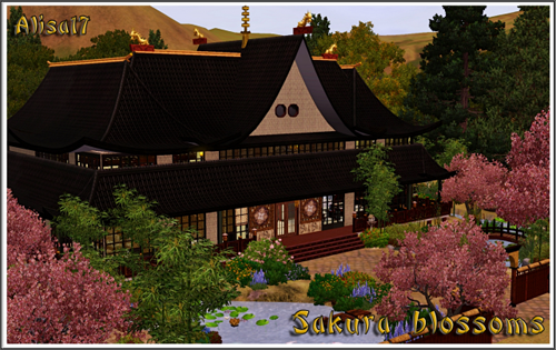 House, lot, sims3