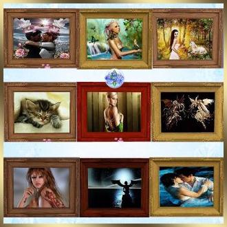 sims 3, painting, картины
