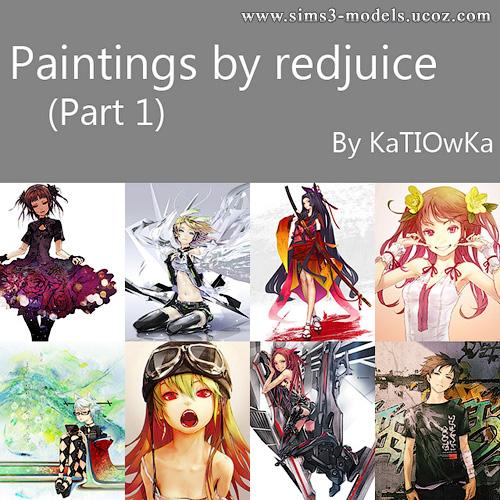 Buy, paintings, objects, decor, картины, декор, объекты, sims 3, симс 3, KaTIOwKa